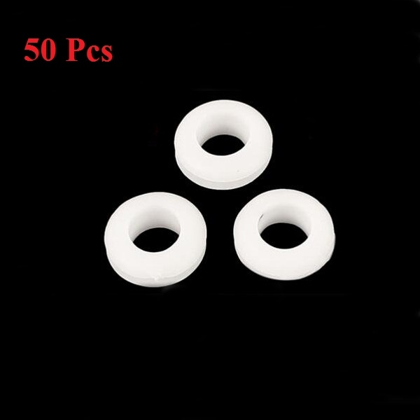 50pcs Rubber Wiring Grommets Ring Cable Protector 5/6/7/8mm Inner Dia