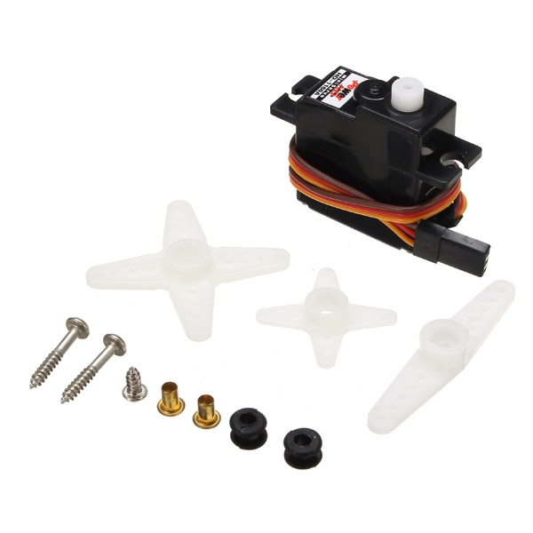 Power HD-1160A 3KG 16g Mini Servo Steering Engine Compatible with Futaba/JR RC Car Part
