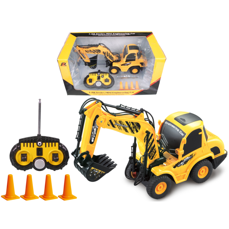 MINI RC Car Toy QINGYI 1:20 6CH RC Digger QY0102 Mini Truck