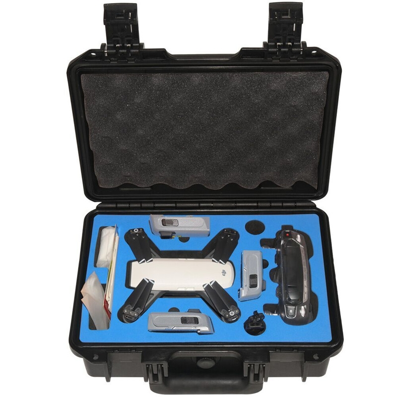 Realacc Waterproof Hardshell Backpack Case Bag RC Quadcopter Spare Parts For DJI Spark