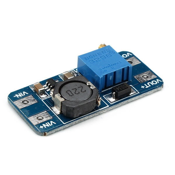 5PCS DC Boost Converter 2A Power Supply Module 2V-24V To 5V-28V Adjustable Regulator Board
