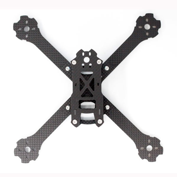 A-MAX X215 215mm Wheelbase 4mm Arm Carbon Fiber FPV Racing Frame Kit 89g
