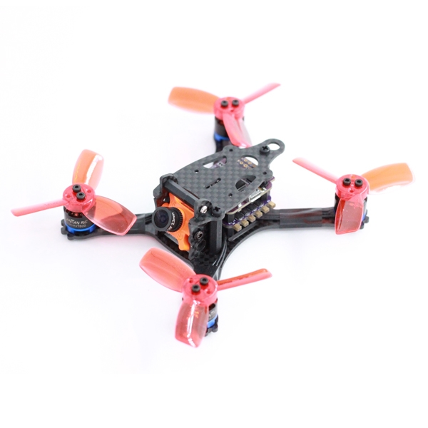 A-Max Baby Cat 114mm Wheelbase Carbon Fiber FPV Racing Frame Kit support Runcam Micro Swift 13.3g