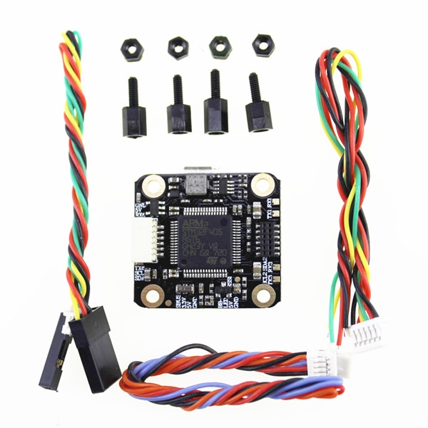 20x20mm HAKRC MiniF4 F4 Flight Controller Integrated with Betaflight OSD & 5V 2A BEC for RC Drone