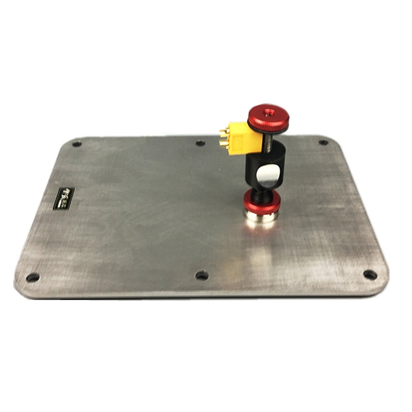 RC Drone Part EP602 230x185mm Stainless Steel Base Platform for Soldering PCB PDB Flight Controller