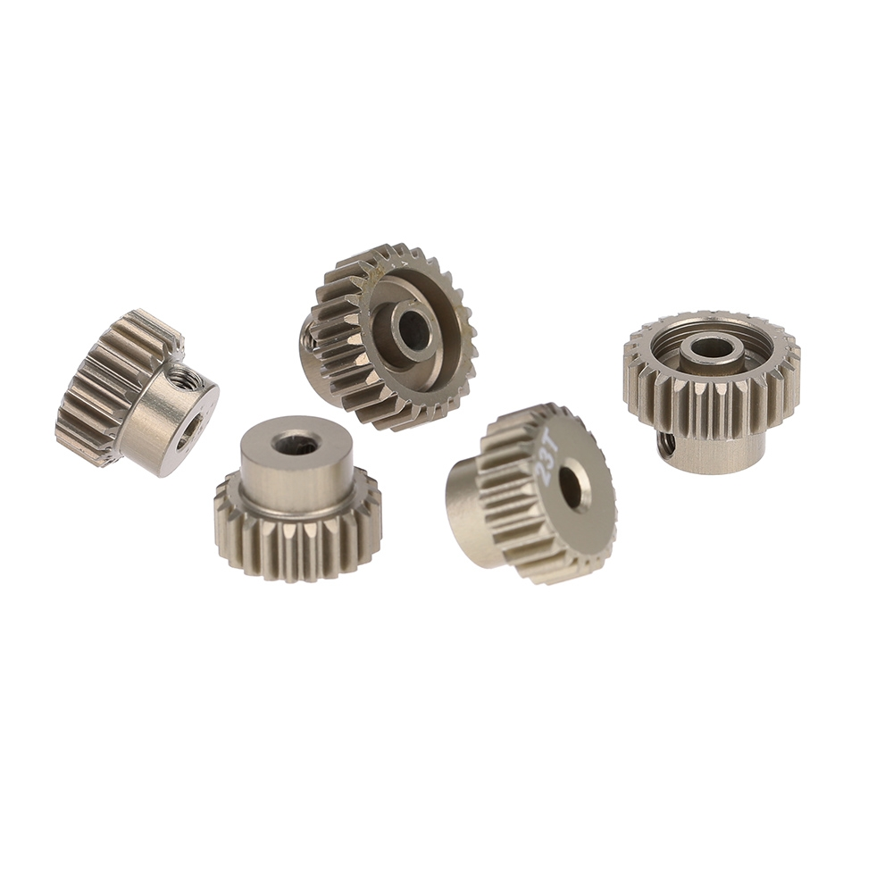 5PCS 48DP 21T 22T 23T 24T 25T Pinion Motor Gear Combo Set for 1/10 Rc Car Brushed Brushless Motor