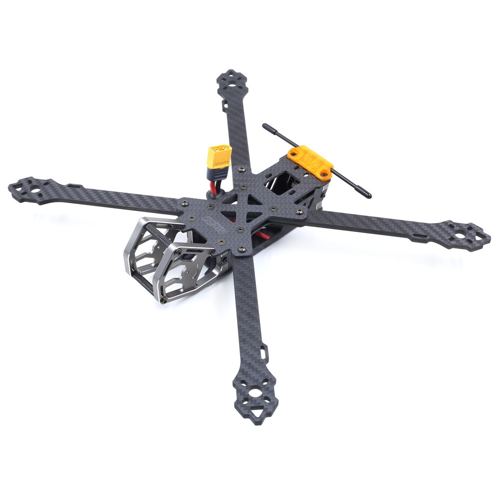 Geprc GEP-KHX7 Elegant 7 Inch 300mm Wheelbase 4mm Arm 3K Carbon Fiber FPV Racing Frame Kit