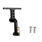 Adjustable Aluminum Tow Trailer Hitch For Axial SCX10 RC4WD Crawler Car Black #C Parts
