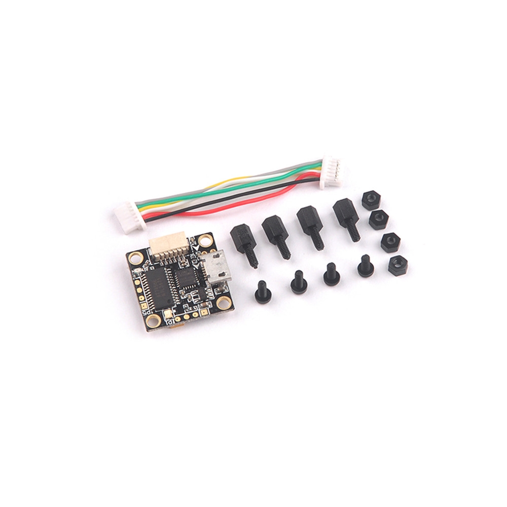 Happymodel TeenyF3 Pro Flight Controller Built-in Betaflight OSD & Buck-Boost Converter for RC Drone