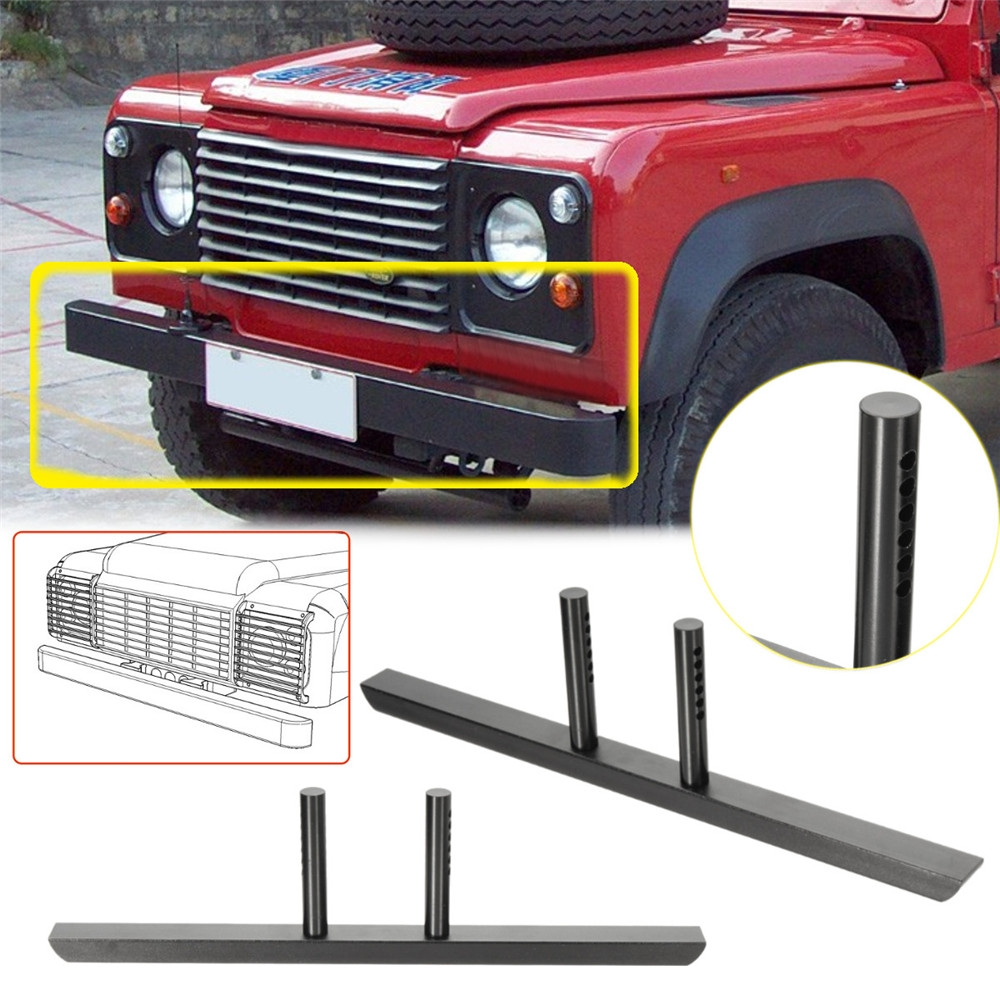 Aluminum Front Bumper Protector For 1/10 TRX4 SCX10 II RC Car Parts