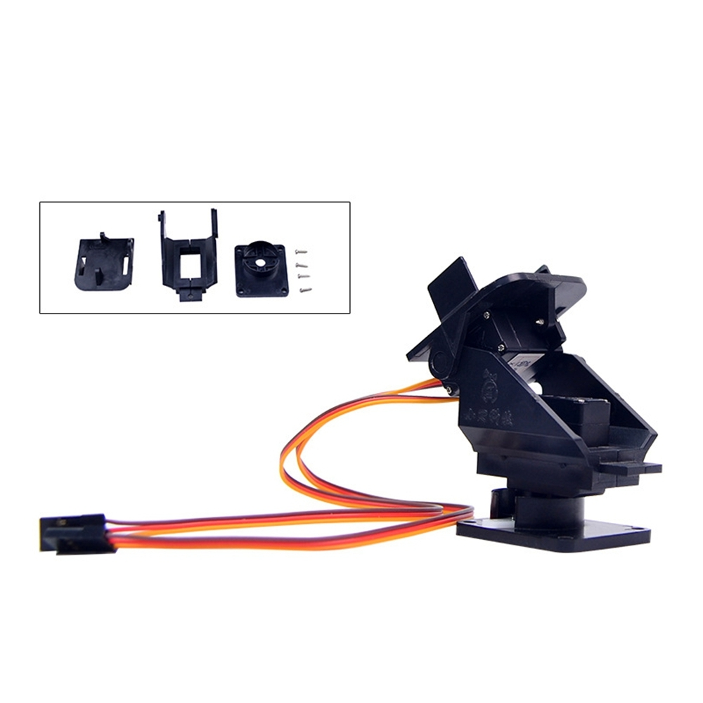 Pan Tilt 2 Axis Camera FPV Gimbal Mount Bracket W/2 Servos For SG90 Servo Ultrasonic Sensor RC Drone