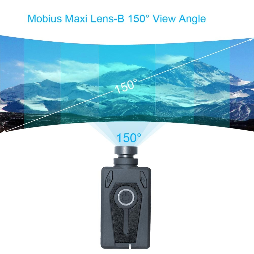 Mobius Maxi 2.7K 135°/150° FOV ActionCam Action Sport Camera Driving Recorder G-sensor DashCam FPV