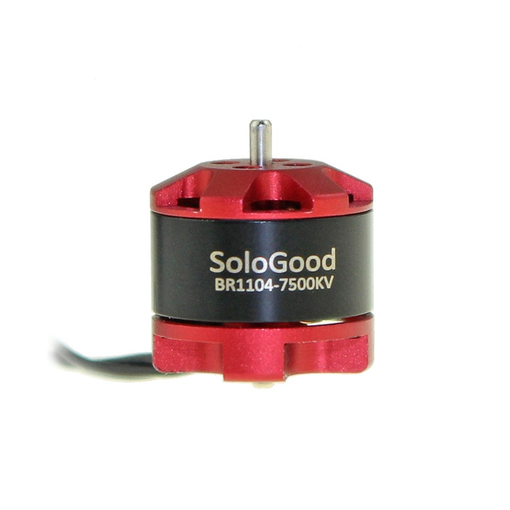 Sologood BR1104 7500KV 2-3S Brushless Motor for FPV Racing RC Drone