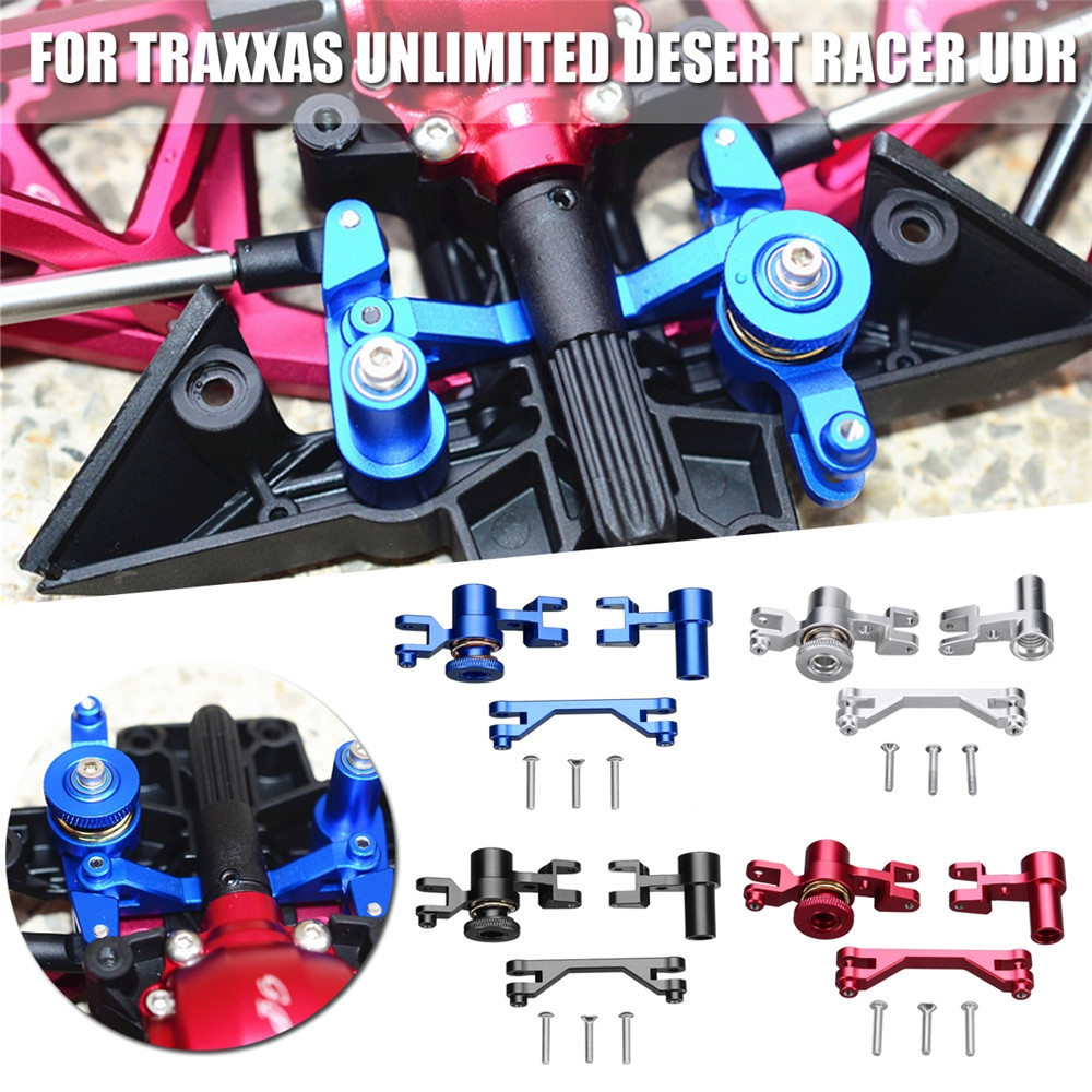 1 Set Aluminum Aolly Steering Assembly Set Fit for Traxxas Unlimited Desert Racer UDR Rc Car Parts