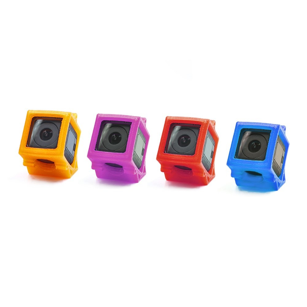 1PC GEPRC 3D Printed TPU Action Camera Protective Case Shock Absorption For GEP-OX-X5 Frame Kit