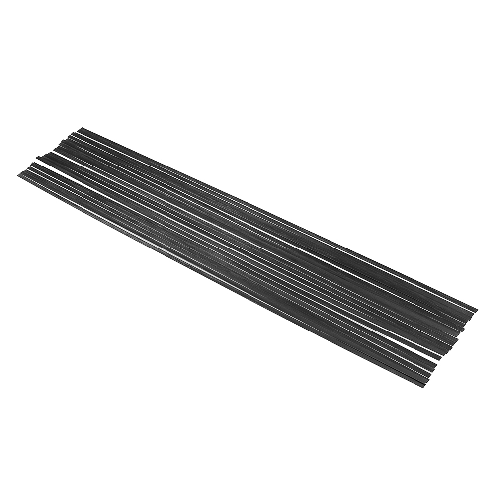 20PCS AEORC 0.5x5x500mm Carbon Fiber Plate For RC Airplane Quadcopter DIY Tool