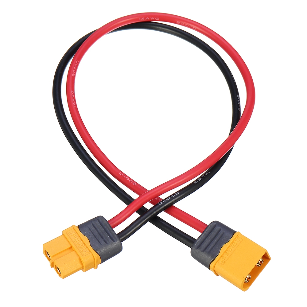 Amass 10cm/20cm/30cm 14AWG XT60H-F Male to Female Plug Wire Cable Adapter