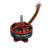 FullSpeed FSD1103 1103 11000KV 1-3S Brushless Motor for TinyLeader 75 RC Drone FPV Racing