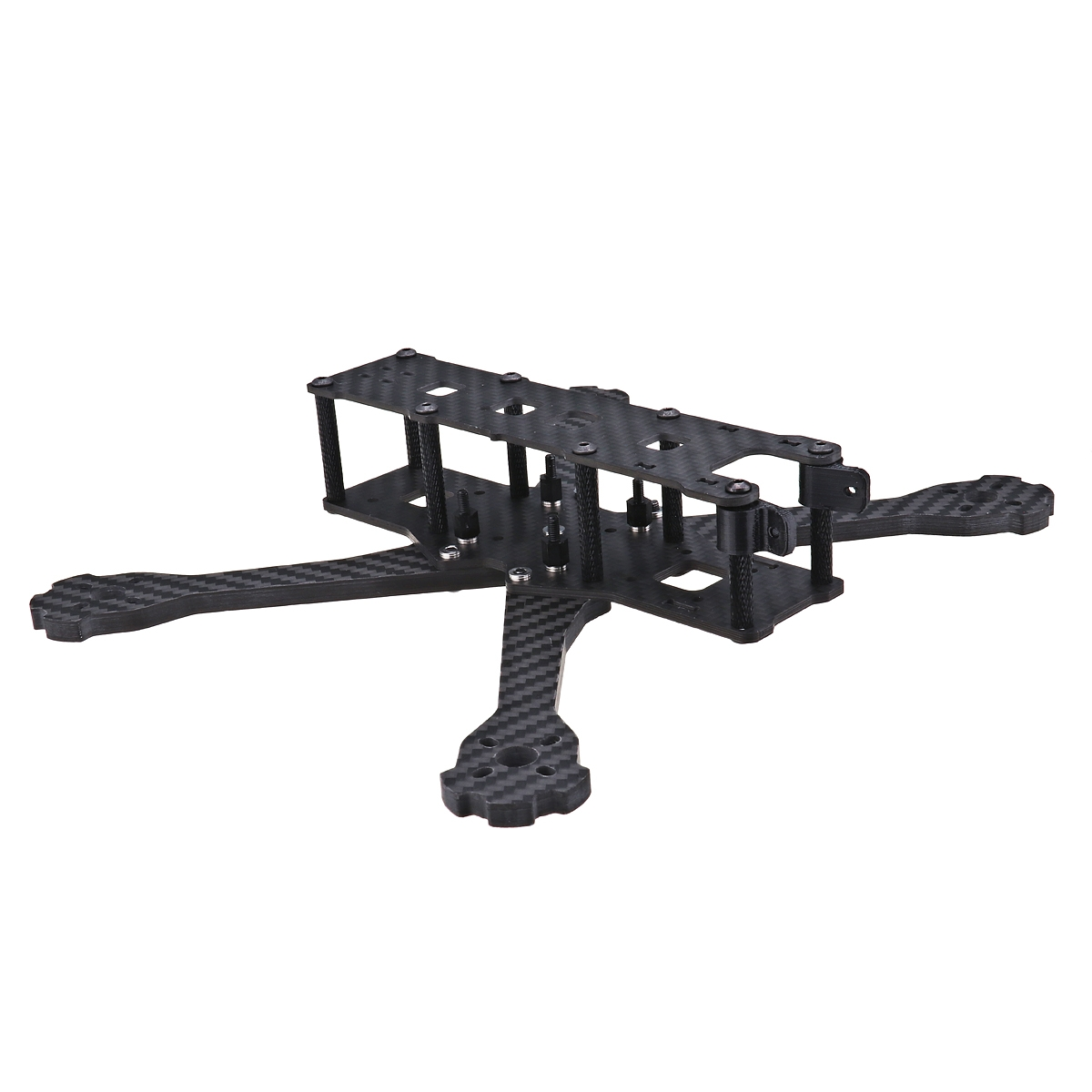 URUAV UF2 5/6/7 Inch 220/250/300mm Carbon Fiber FPV Racing Frame Kit 5.5mm Arm for RC Drone