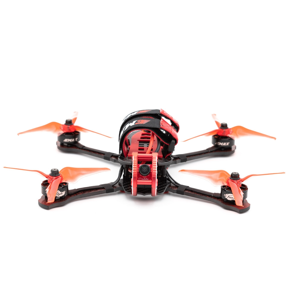 Emax Buzz Spare Part 245mm Wheelbase 5 Inch 3K Carbon Fiber Frame Kit for RC Drone FPV Racing
