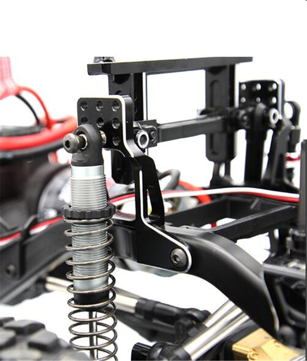 4PCS Upgraded Aluminum Alloy Adjustable Shock Absorber Bracket for 1/10 Traxxas TRX-4 Rc Crawler Parts