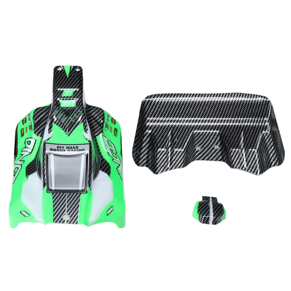 REMO Green Off-Road Buggy Body Shell Canopy D5602 1/16 RC Car Part
