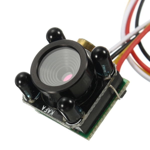 650TVL 1/4 CMOS 3.6mm Lens 6MP HD Mini FPV Camera PAL/NTSC 3.3-5V