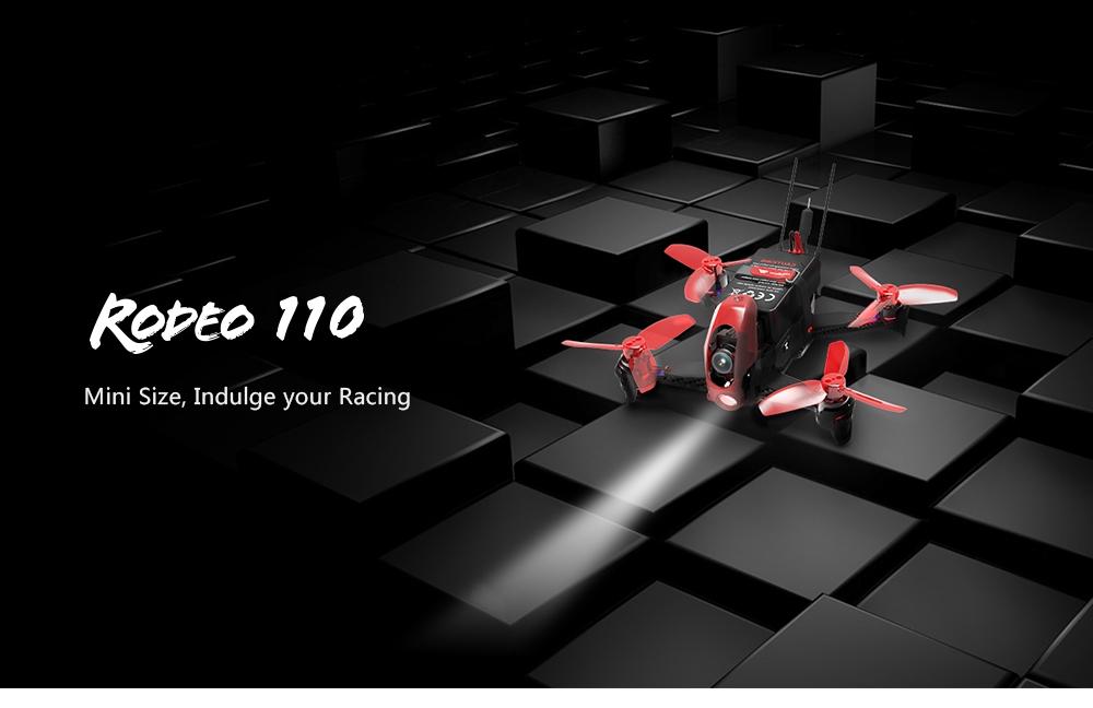 19de0cf70 Walkera Rodeo 110 110mm FPV Racing Drone w/ 600TVL HD Camera 5.8GHz 40CH  Transmission BNF RTF - Price - 159.00 Euro   mdp.lt