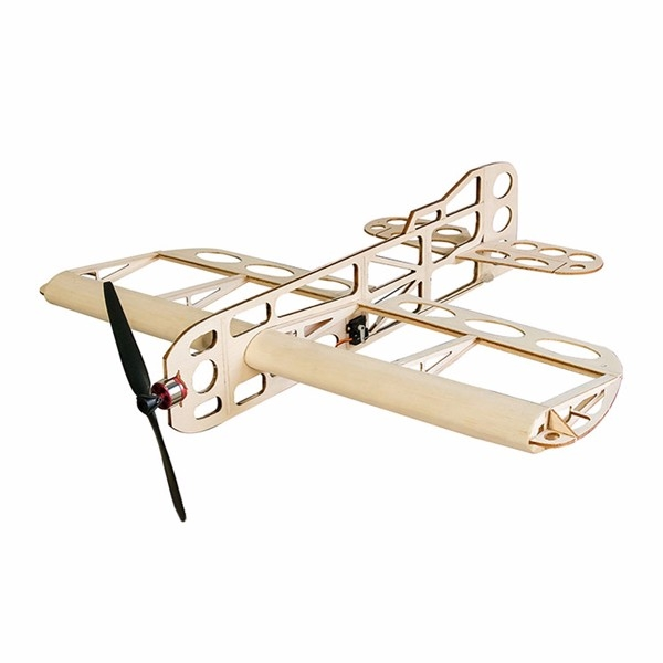 GEEBEE Balsa Wood Laser Cut 600mm Wingspan RC Airplane Building Kit