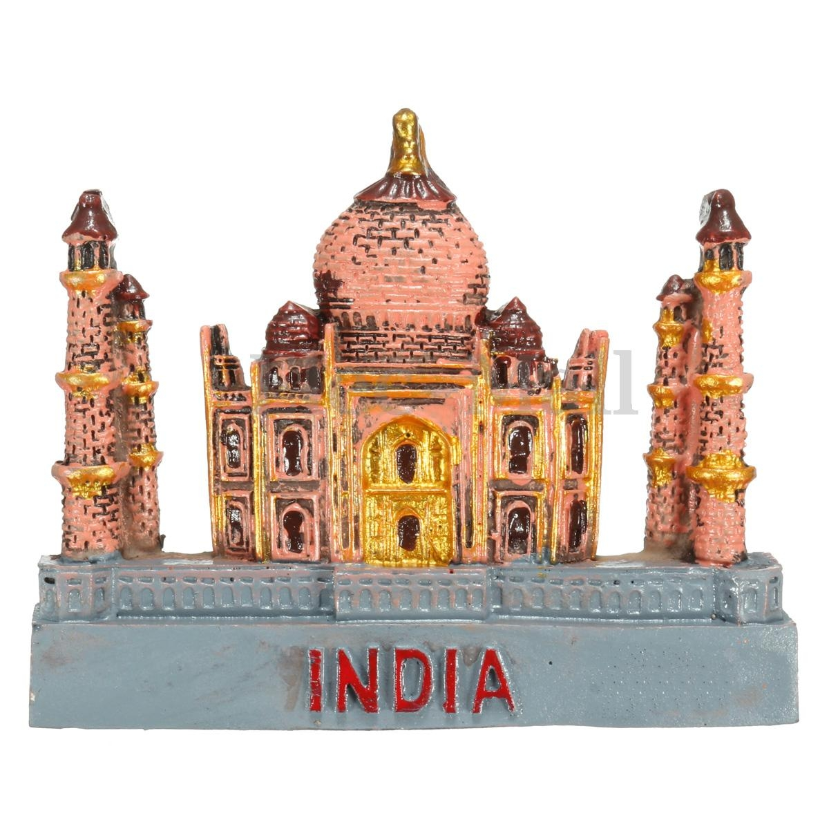 3D Resin Fridge Magnet India Taj Mahal Tourist  Souvenir Gift Decoration