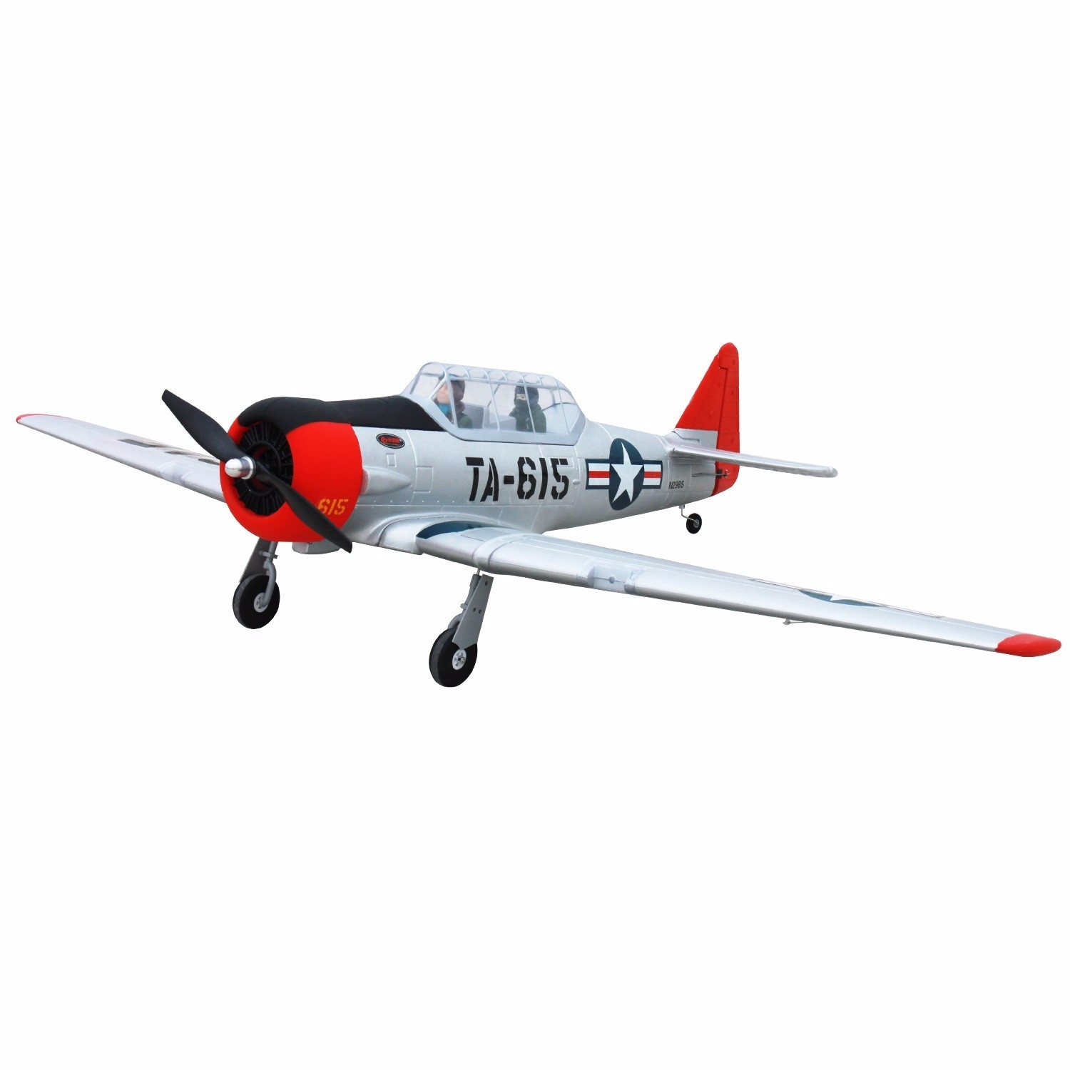 Dynam AT-6 Texan 1370mm Wingspan EPO Warbird RC Airplane PNP