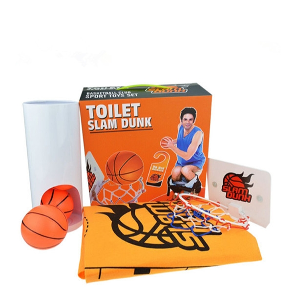 Toilet Basketball Creative Novelities Toys Joker toys Break Boring