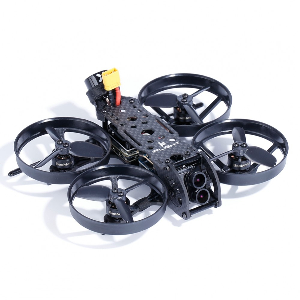 iFlight Cinebee 4K 107mm F4 OSD 4S Whoop FPV Racing Drone PNP BNF w/ Caddx.us Tarsier Dual Lens Camera
