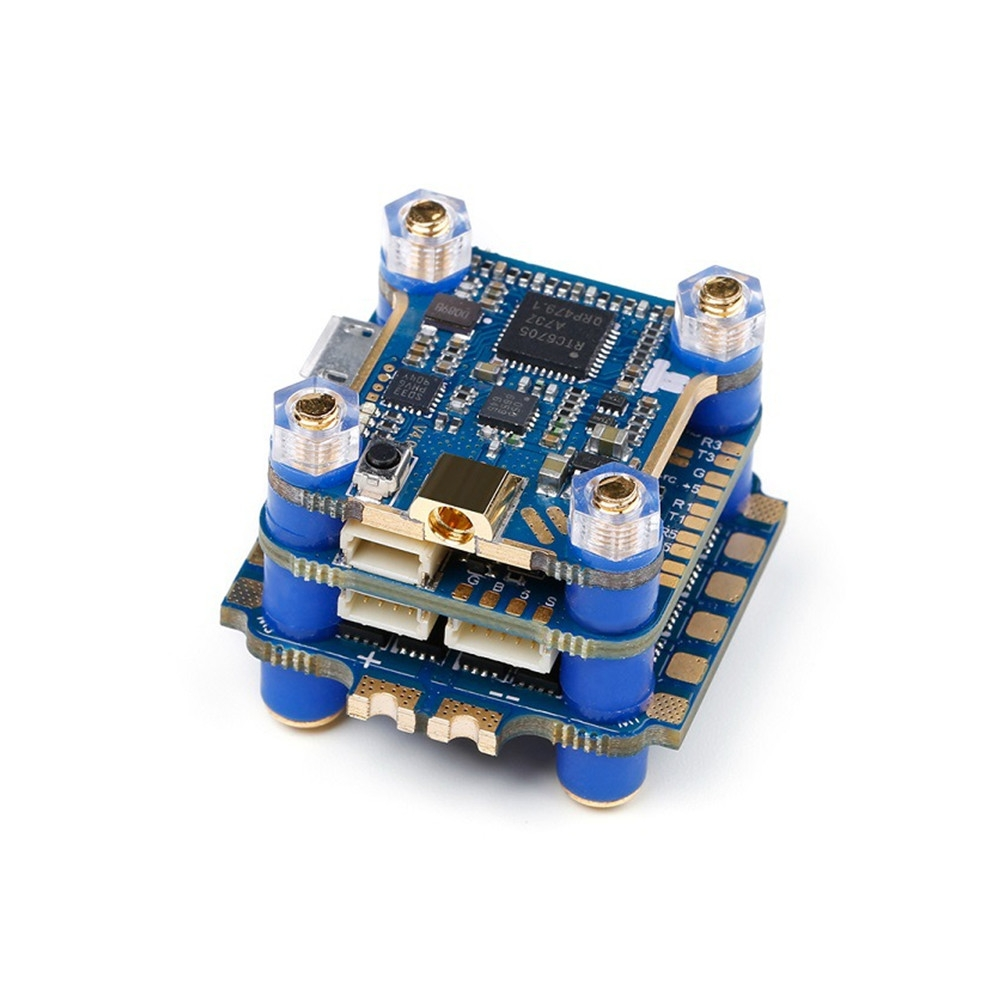 iFlight SucceX F7 TwinG Mini-W F7 Flight Controller & 40A 2-6S BL_32 ESC & 48CH 500mW VTX Stack for RC Drone
