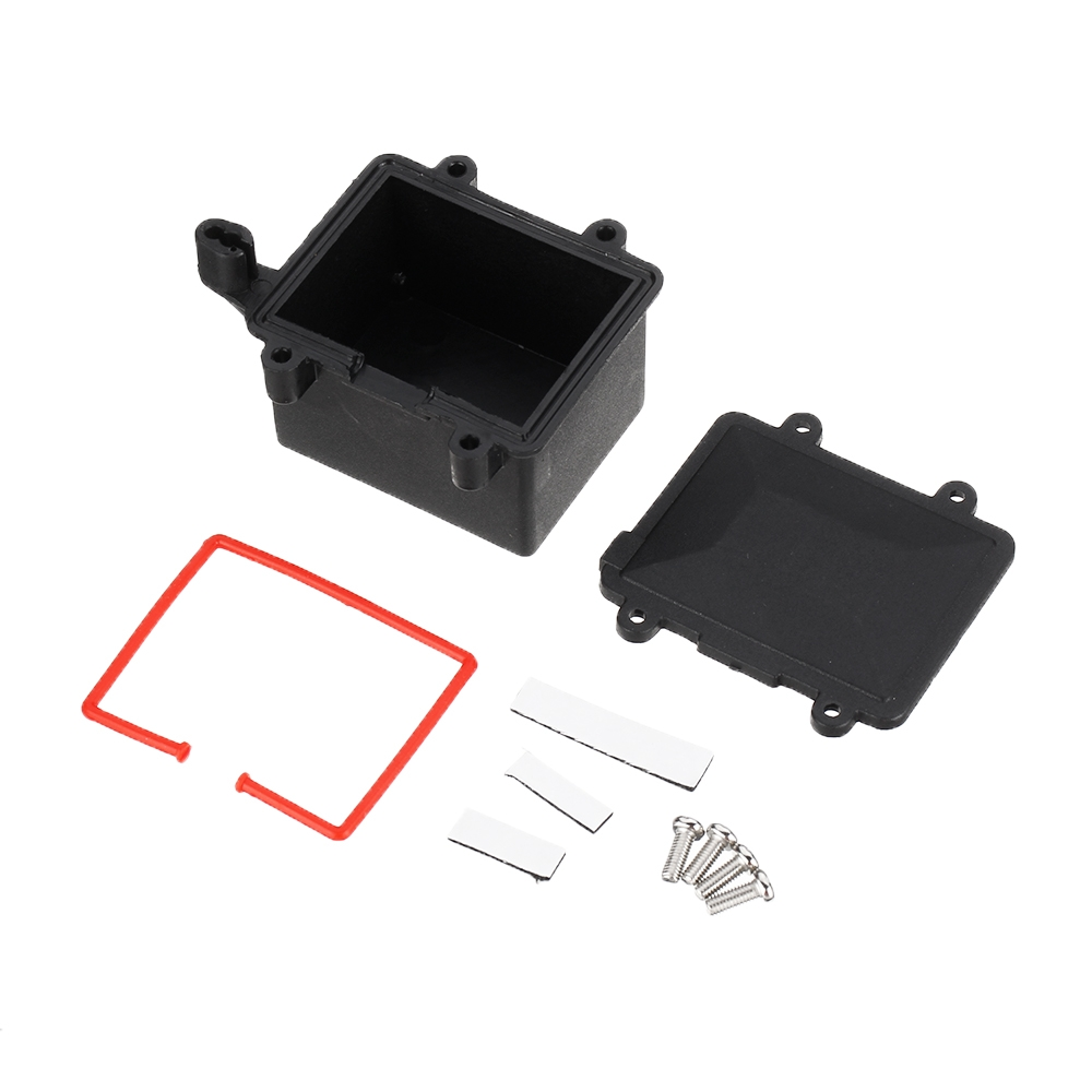 FS Racing 511667 Water Resistance Receiver Box for 1/10 RC Car Desert Buggy Truck Vehicles Parts