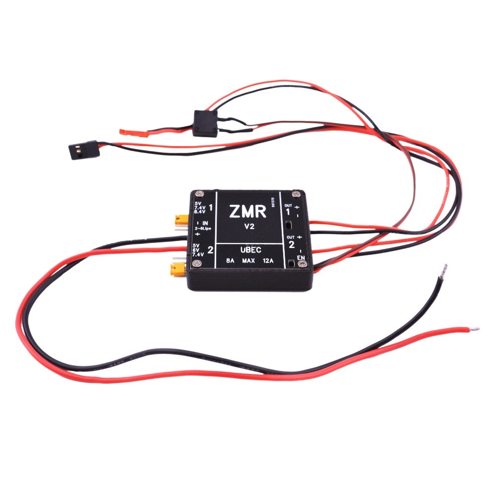 ZMR 8A UBEC V1 V2 V3 BEC Input Voltage 2-6S Lipo/4-8S BEC for RC FPV Drone Quadcopter