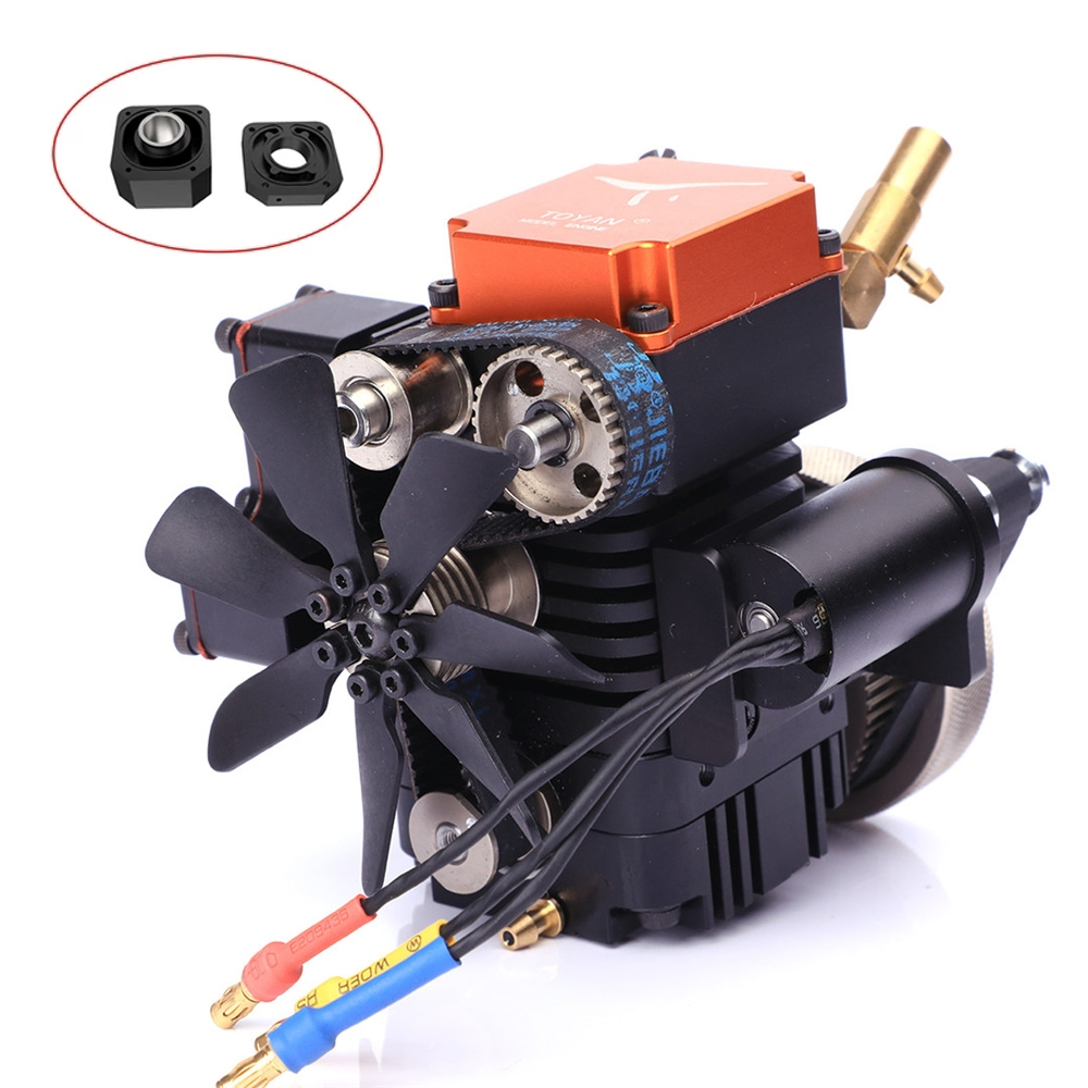 4 Stroke RC Engine Toyan Four Stroke Methanol Model RC Car Boat Airplane FS-S100(W)