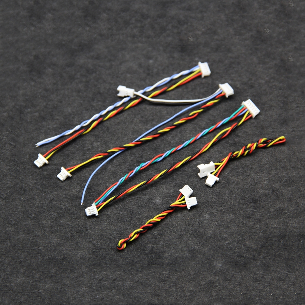 Silicone SH1.25mm 3Pin/4Pin/5pin/6Pin/7Pin FPV Cable Wire for FPV Runcam Caddx Foxeer Camera
