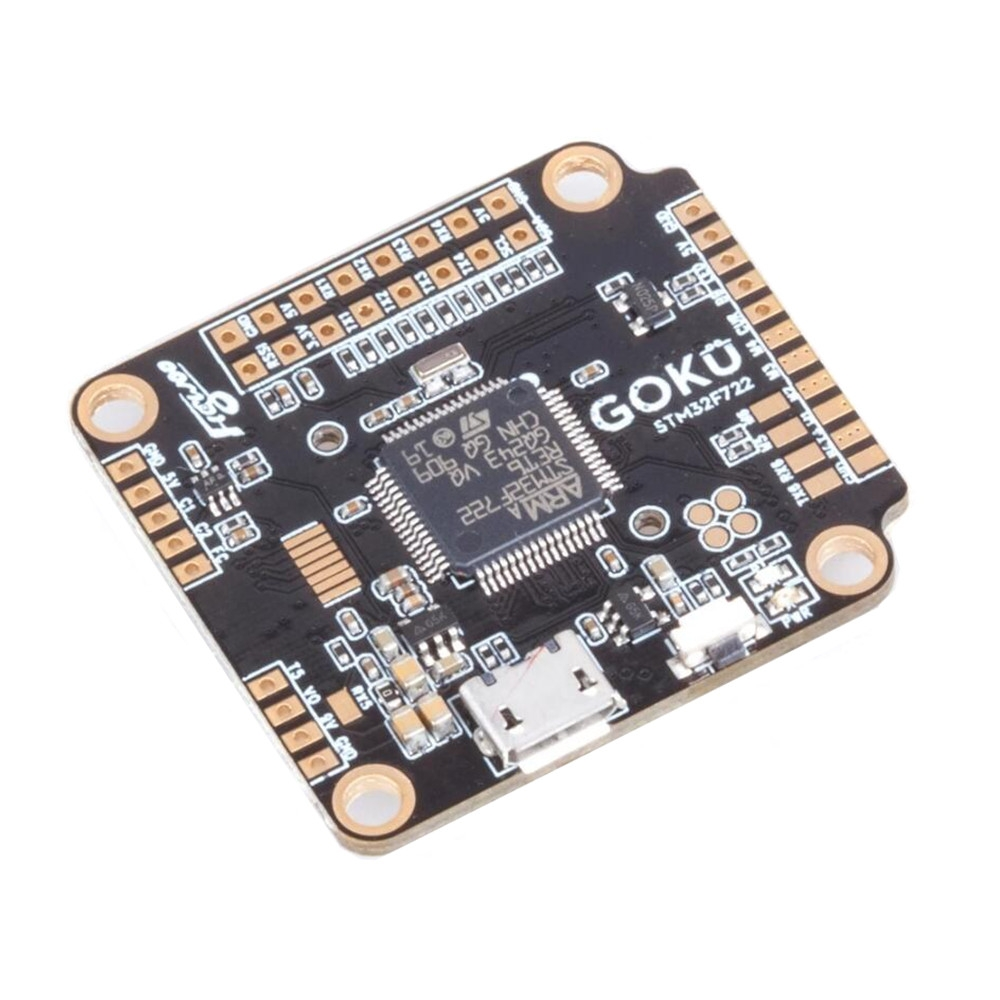 30.5x30.5mm Flywoo GOKU F722 Single / Dual Gyro F7 Flight Controller AIO OSD BEC 3-8S for RC Drone