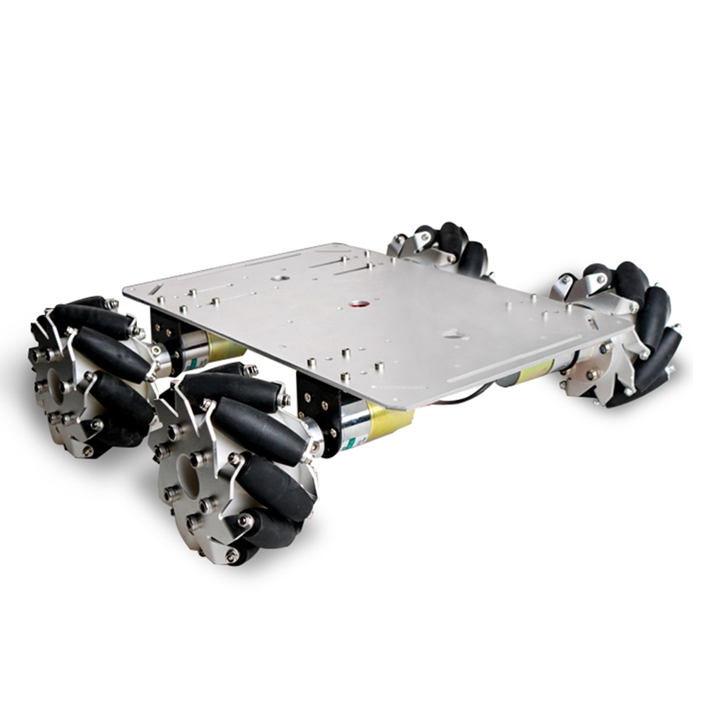 DOIT DIY Smart RC Robot Car Chassis With 100mm Omni Wheels Compiled Motor