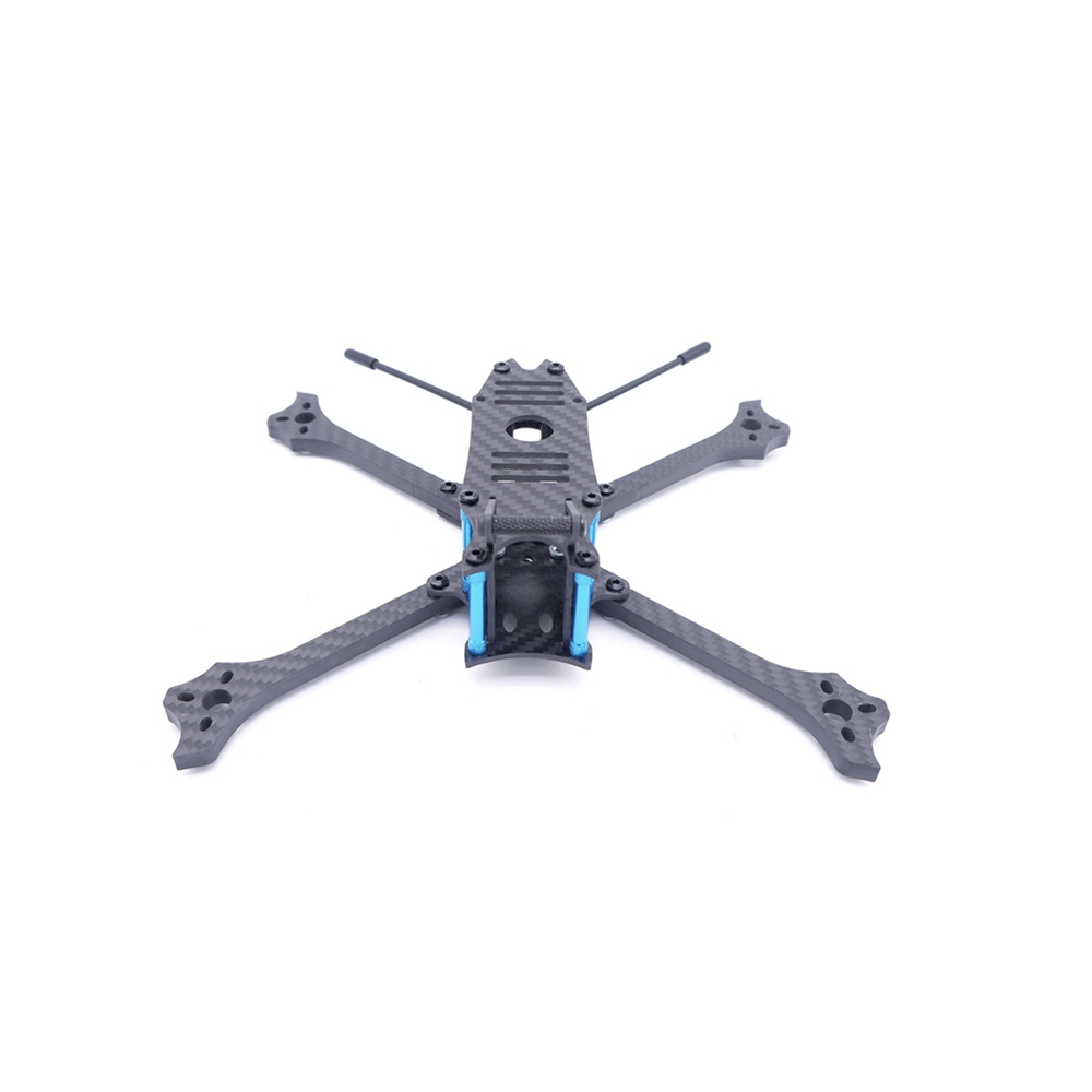 Cockroach V3 220mm 6mm Arm X Style Split Frame Kit With Antenna Fixing Seat Mount