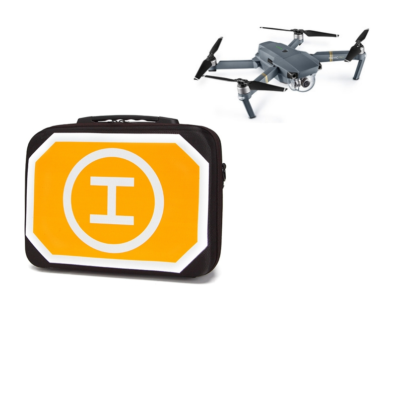 Portable Storage Shoulder Bag Carrying Box Case with Landing Pad Packing Apron for DJI Mavic Pro Drone