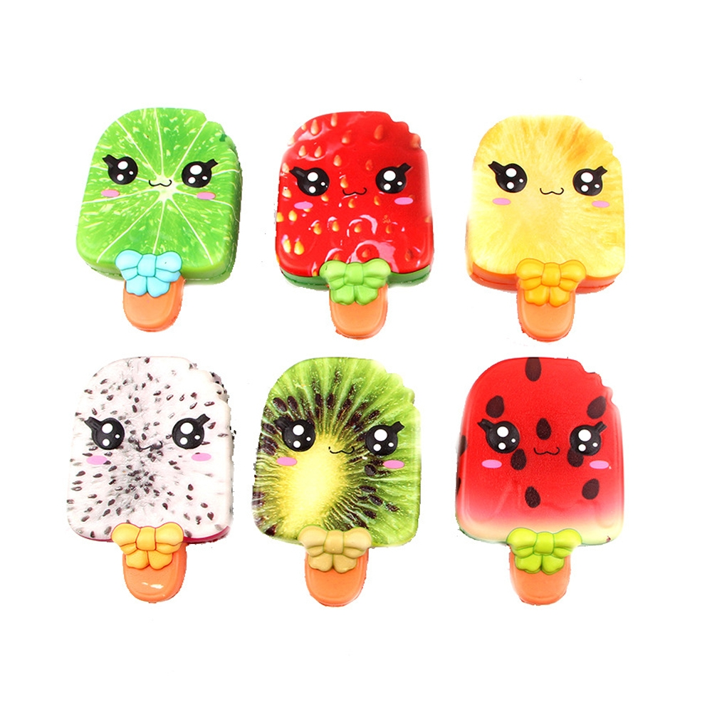 Squishy Colorful Slow Rebound Fruit Ice Cream Collection Gift Decor Toy