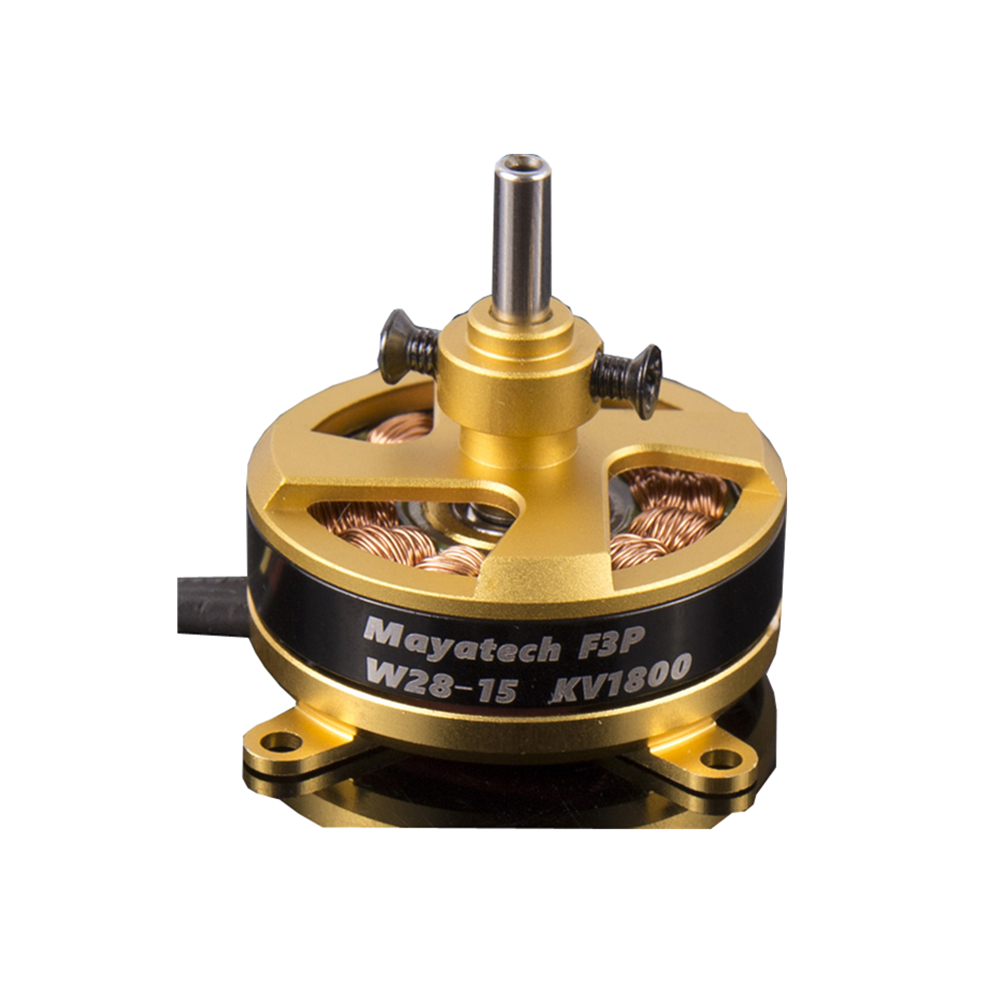 Mayatech W2815 1800KV Hollow Shaft Brushless Motor F3P 4D 2204 for RC Airplane Spare Part