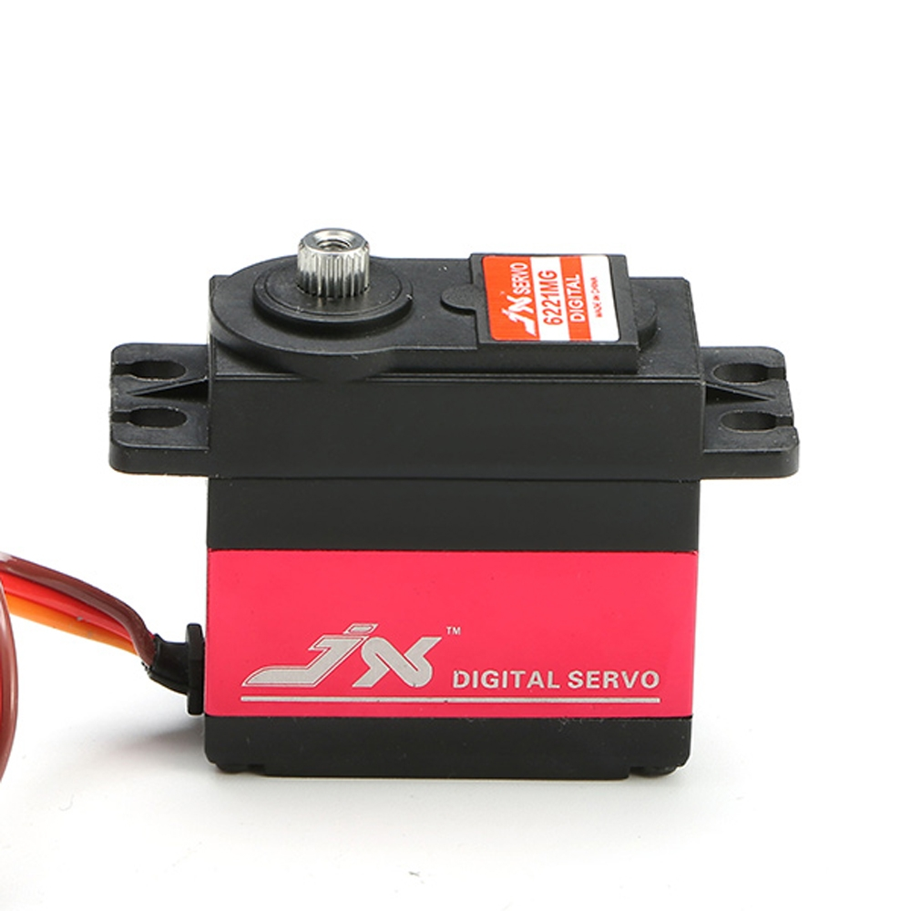 JX PDI-6221MG 20KG Large Torque Digital Coreless Servo For RC Model 2pcs