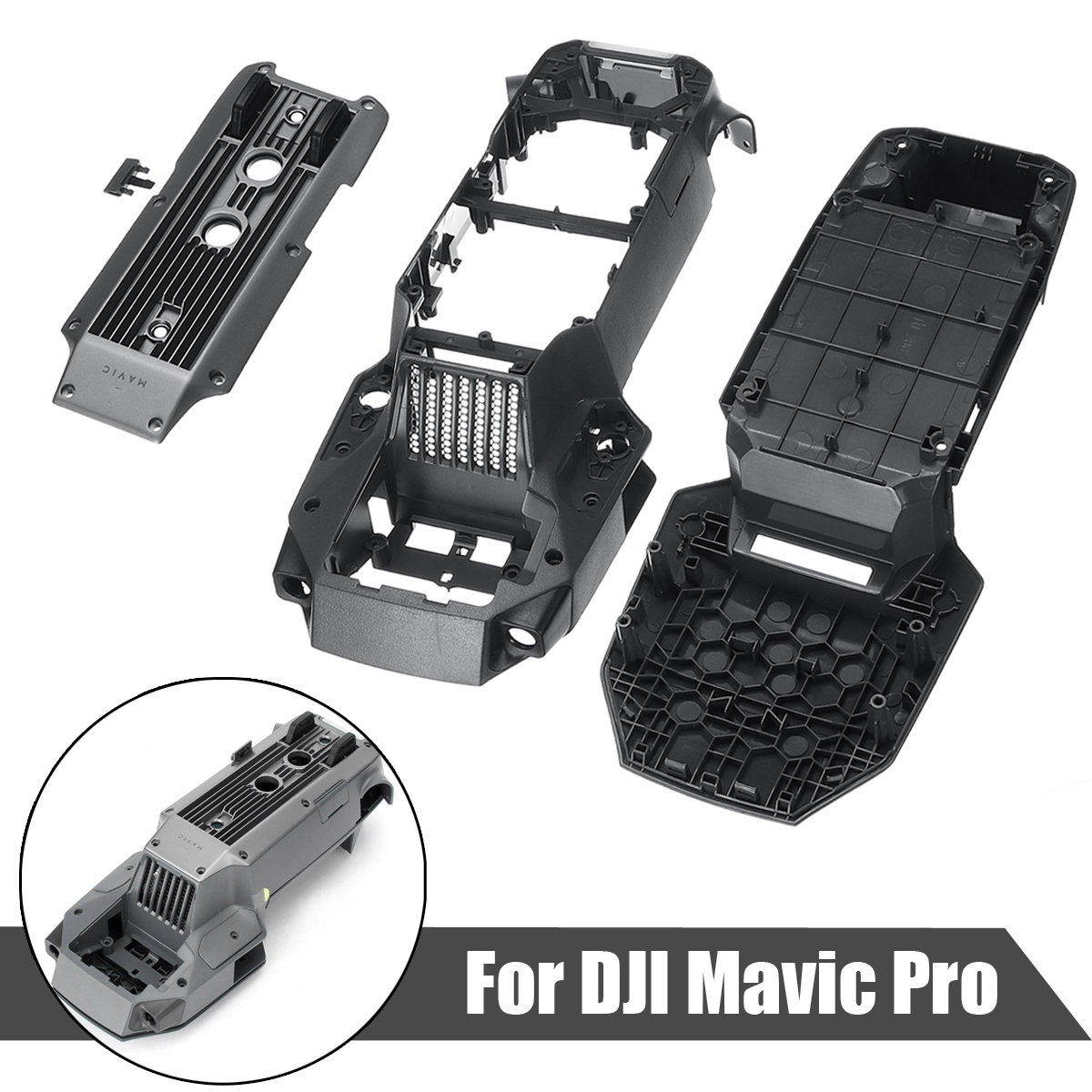 Top Shell Middle Frame Bottom Cover Repair For DJI Mavic Pro
