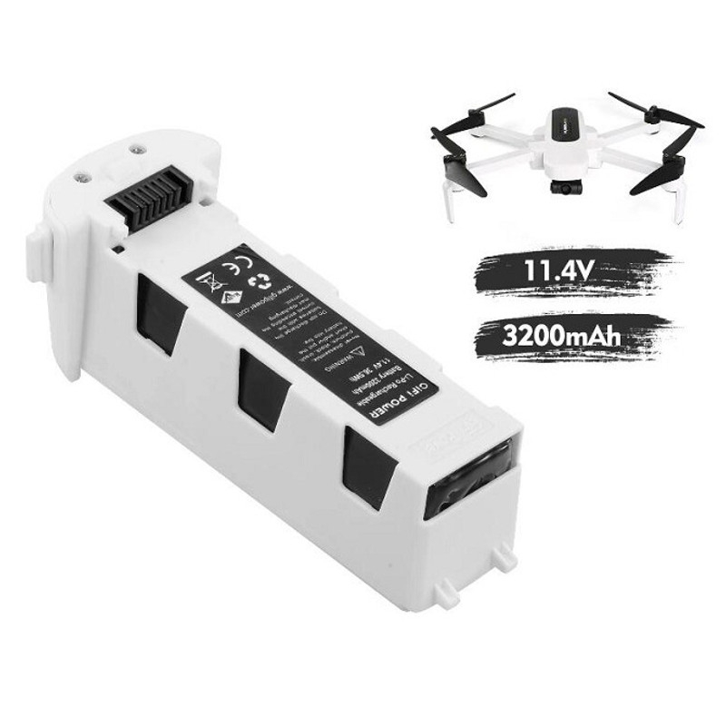GiFi Power 11.4V 3200mAh 35.5Wh LiPo Battery for Hubsan Zino PRO H117S RC Drone Quadcopter