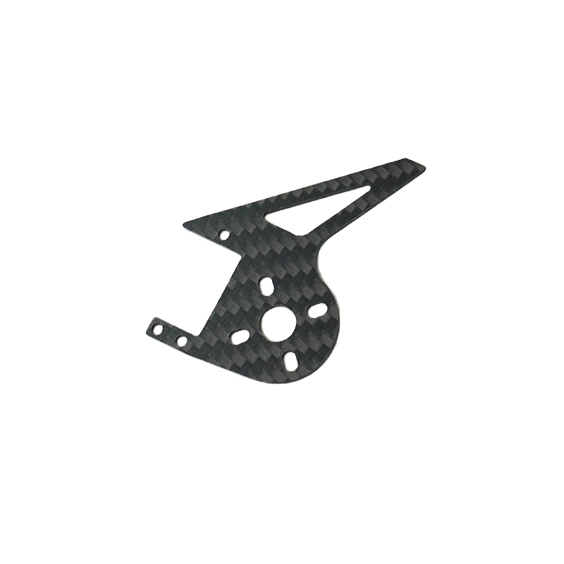 FLY WING FW450 RC Helicopter Spare Parts Tail Motor Carbon Fiber Plate