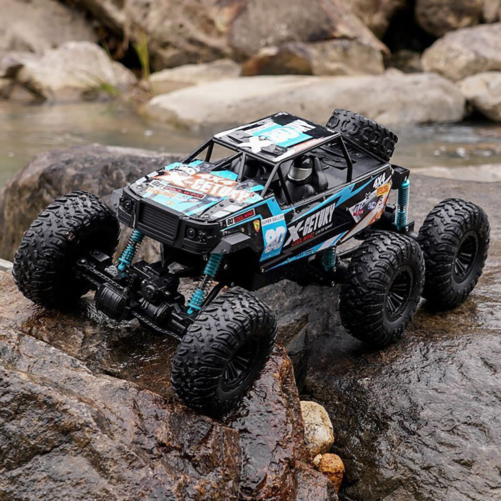 2.4G 6WD 60CM Big Foot Crawler RC Car Toys Vehicle Models Alloy Body