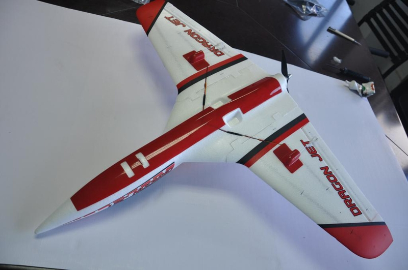Dragon Jet 800mm Wingspan EPO Flying Wing RC Airplane PNP